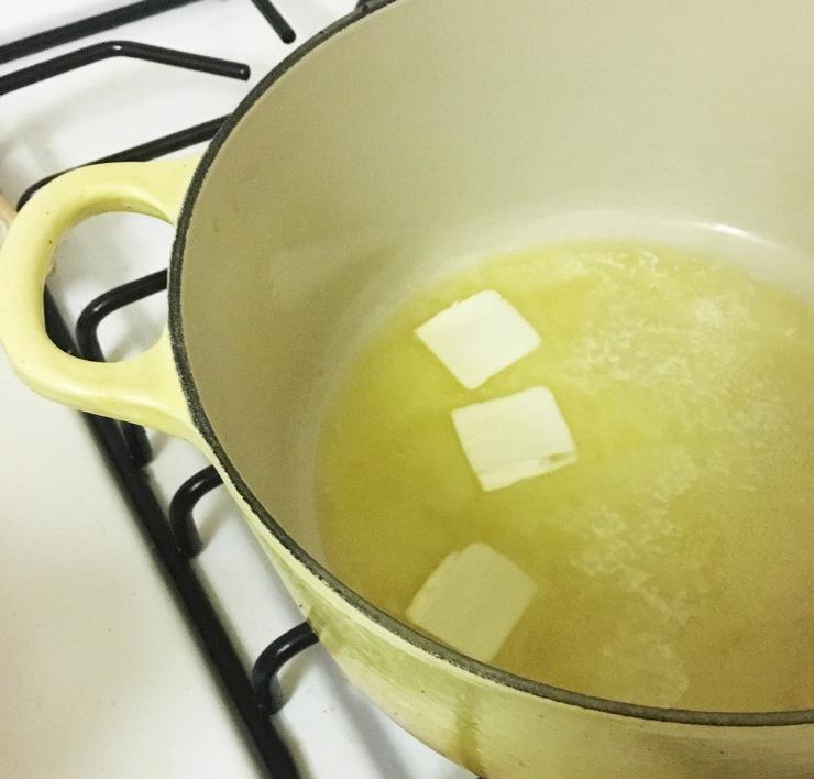 polenta-butter
