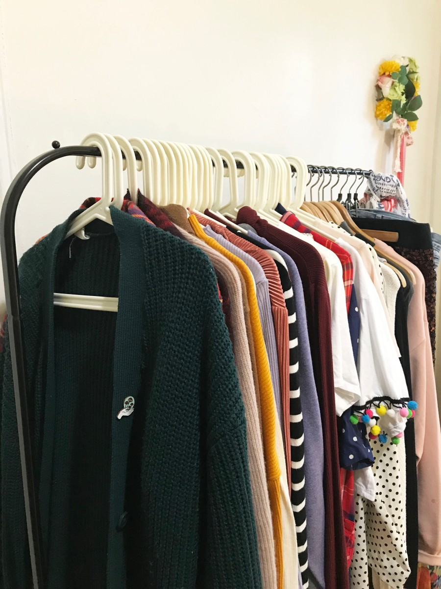 My take on a fall/winter capsule wardrobe