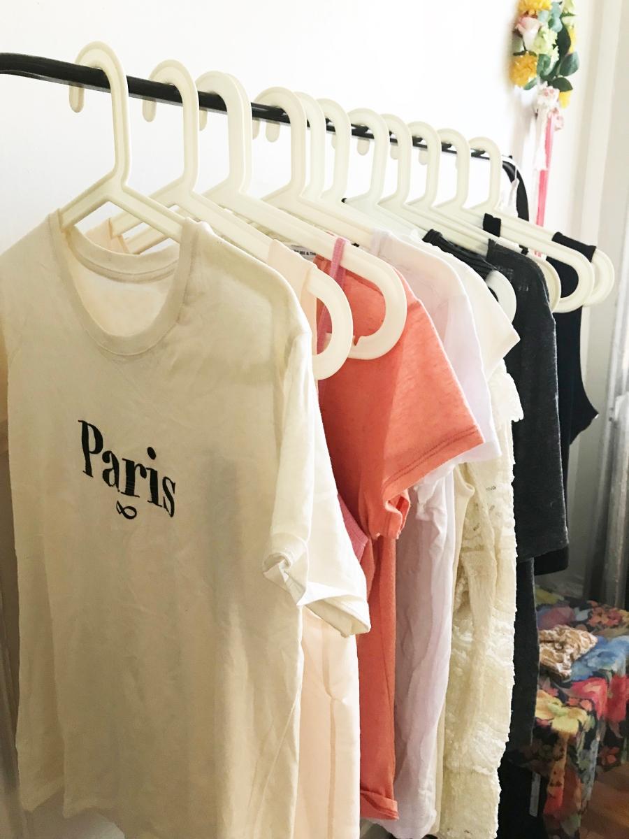 My spring/summer capsule wardrobe